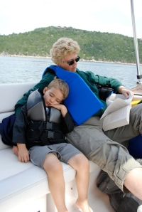 Ethan, Grandma-2