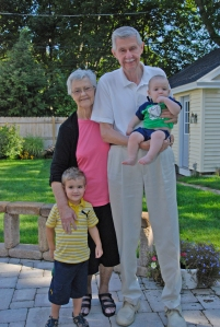 Great Grandma and Grandpa and boys-3