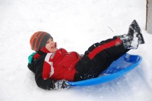 Ethan sledding-2