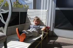 Ethan, chaise lounge