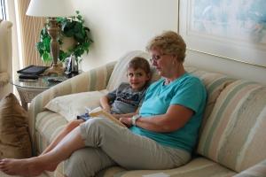 Ethan, Grandma, reading-2