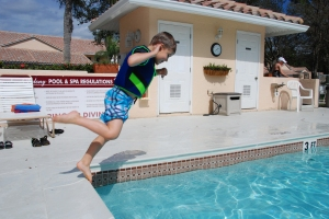 Ethan, pool