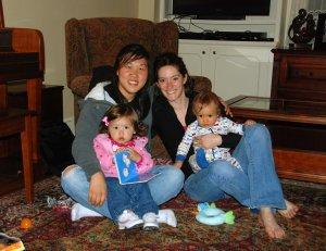 Cass, Hana, Jess, Ethan, May, 2010-s