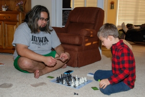 playing chess (1 of 1)