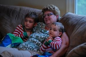 Micah, Ethan, Grandma (1 of 1)