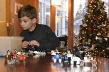 Ethan, legos