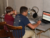 Ethan, Matthew broadcasting-2